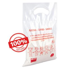Sable de silice naturel - sachet de 1 kg